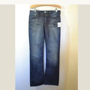 7 For All Mankind Flynn Bootcut Jeans Size 28